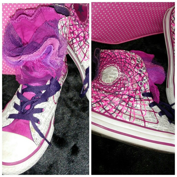 converse tulle